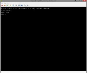 Finished Boot (Sophos UTM on ESXI 5.5)