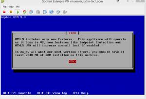 Memory (Sophos UTM on ESXI 5.5)